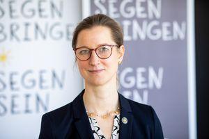 Anne Wunden, Geschäftsführerin des Kindermissionswerks ,Die Sternsinger'