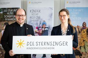 Anne Wunden, Geschäftsführerin und Pfarrer Dirk Bingener, Präsident des Kindermissionswerks ,Die Stersninger'