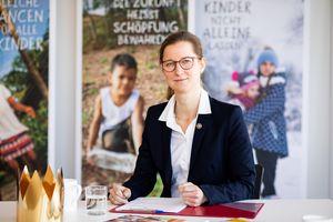 Anne Wunden, Geschäftsführerin des Kindermissionswerks ,Die Stersninger'
