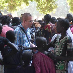 Sebastian Kaempf, Leiter der Caritas in der Dioezese Wau im Suedsudan.