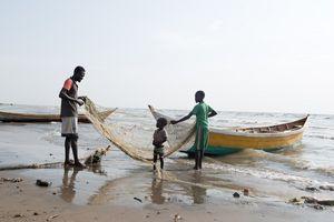 Der Fischer, Turkana, Kenia, 2/2016