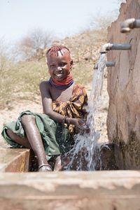 Aweed am Brunnen, Turkana, Kenia 2/2016