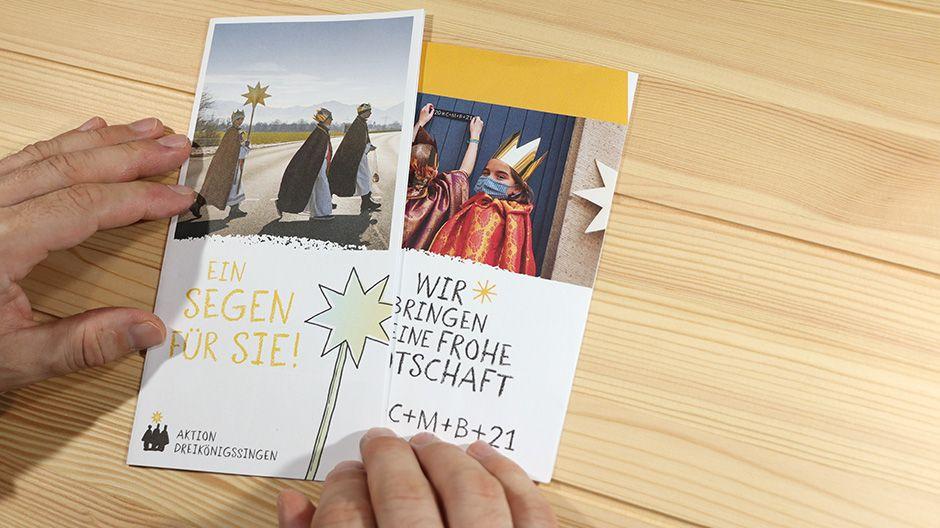 """Flyer """"Ein Segen für Sie"""""""