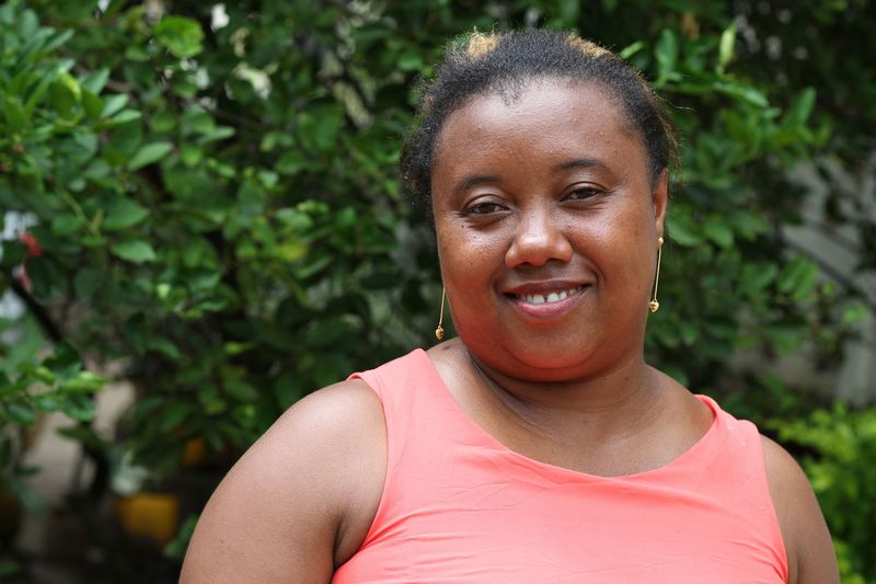 Dalia Malalanirina (36), Umweltexpertin in der Diözese Antsiranana in Madagaskar, im Porträt.