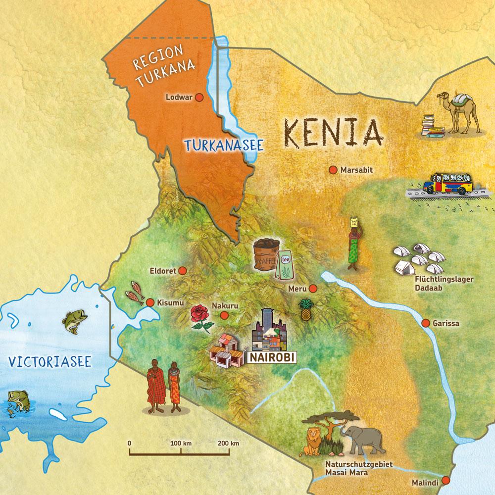 Kenia Karte.Film Willi In Kenia Kindermissionswerk Die Sternsinger